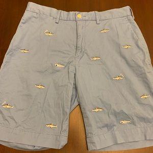 Polo Ralph Lauren Fish Pattern Shorts